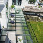 Glass Deck from above - Meadowcroft