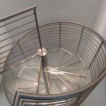 Glass Stairs Spiral Stairs