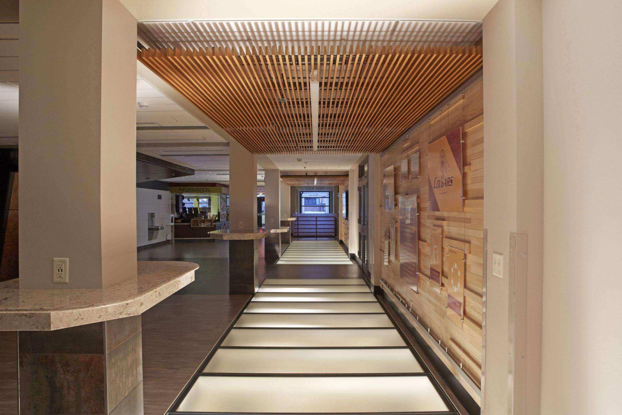 Interior Glass Floor - Morris College