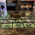 Interior Glass Floor - Trade Show Booth
