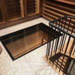 Interior Glass Floor - Wine Cellar