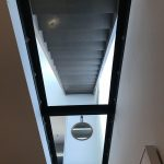 Interior Glass Floor from underneath Haya