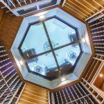 Interior Glass floor from below - 676 Hollow Tree